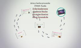 Copy of Actos y hechos procesales