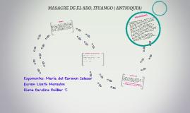 MASACRE DE ITUANGO ( ANTIOQUIA)