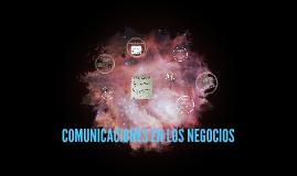COMUNICACIONES EN LOS NEGOCIOS