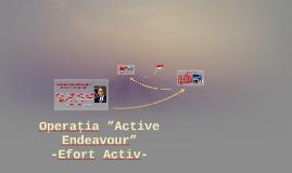 Operaţia Active Endeavour