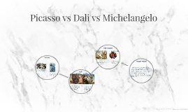 Picasso vs Dali vs Michaelangelo