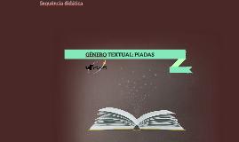 Copy of Sequência Didática: Gênero textual PIADAS
