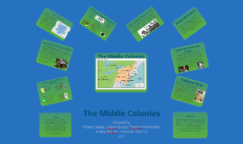 Copy of The Middle Colonies