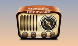 Responsabilidad Social de la Radio