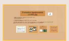 UCARE Agroforesterie CFPPA Die