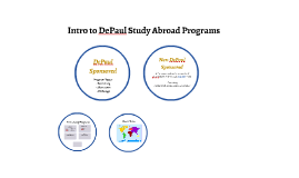Intro to DePaul Study Abroad Programs