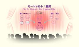 """2016: W. A. Mozart: Die Zauberflöte K. 620 """"Lied"""" 総合ソルフェージュiii のコピー"""