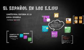 El español en los e.e.uu