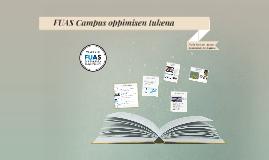 FUAS Campus oppimisen tukena