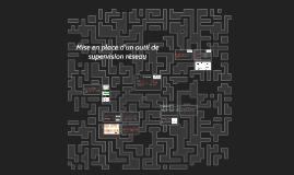 Mise en place d'un outil de supervision réseau