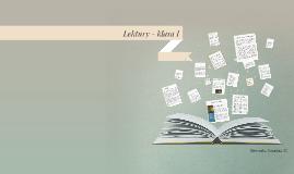 Lektury - klasa I