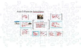 Aula 3: Fases do Jornalismo