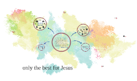 Only the best for jesus