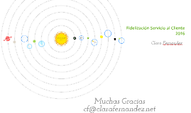Copy of Copy of Fidelización Servicio al Cliente