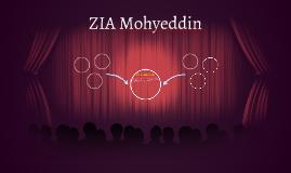 ZIA MOHIUDDIN