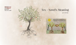 Tex - Novel Meaning