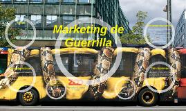 Copy of Marketing de Guerrilla