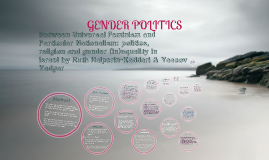 Copy of Gender Politics