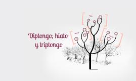 Copy of Hiato, diptongo y triptongo