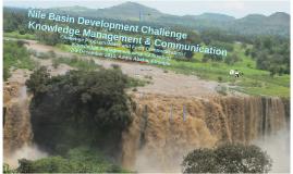 Nile Basin Development Challenge comms & KM