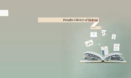 Douglas Library of Hebron