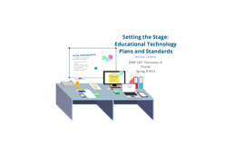 Educational Technology Plans & Standards