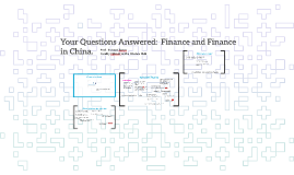 Your Questions Answered:  Finance and Finance in China.