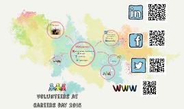 Volunteers at careers day 2015