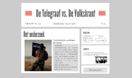 De Telegraaf vs. De Volkskrant