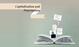 Capitalization and Punctuation Lesson