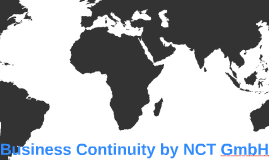 Business Continuity by NCT GmbH