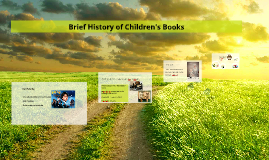 Brief History of Children's Books