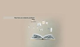 Copy of Pour faire une recherche, j'utilise e-sidoc
