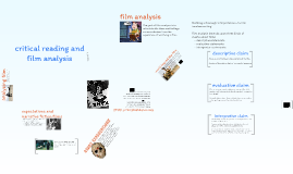 critical reading and film analysis