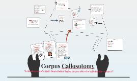 Corpus Callosotomy