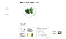 Copy of COMPOSICION DE LA UVA Y EL VINO