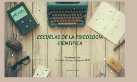 2. Escuelas científicas de la Psicologia