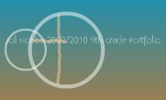 My 2009-2010 Portfolio