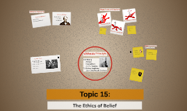 Topic 15: Ethics of Belief