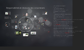 Responsabilités et Decisions des Corporations GLIF2014