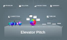 Copy of Elevator Pitch