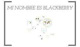 Personalidad de Marca- Blackberry