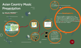 Asian Country Music Presentation