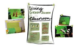 Teaching Language using Green Screen - Teachmeet Feilte