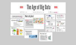 The Age of Big Data