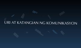 Copy of Copy of Uri at Katangian ng Komunikasyon