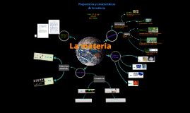 las propiedades y características de la materia