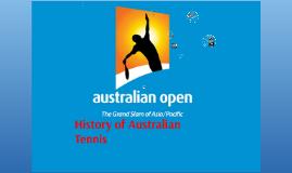 History of Australian Tennis