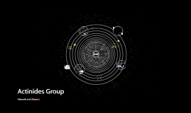 Actinides Group