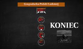 Gospodarka Polski Ludowej